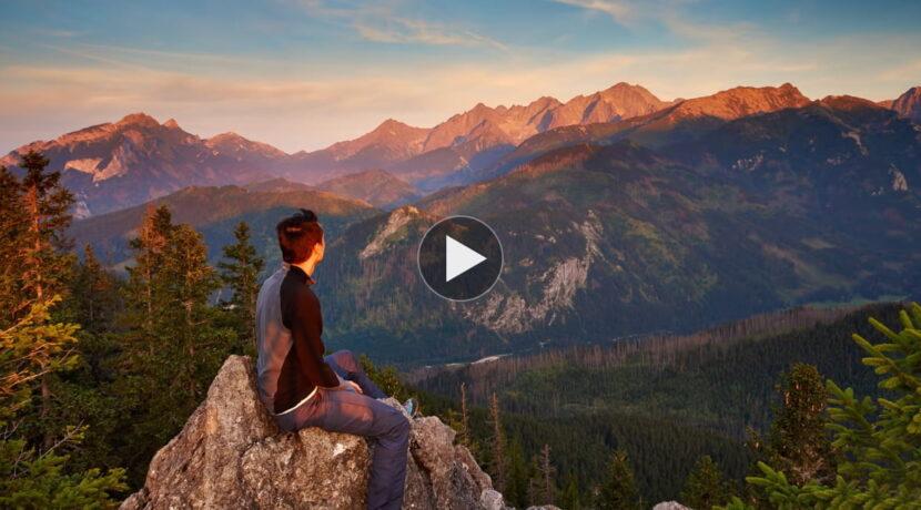 Szlaki w Tatrach dla początkujących – łatwe, ale piękne widokowo trasy (FILM)