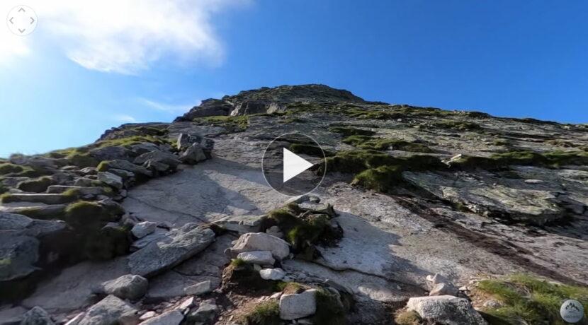 Wejście na Kościelec z kamerą 360°! Zobacz dokładny przebieg szlaku (FILM)