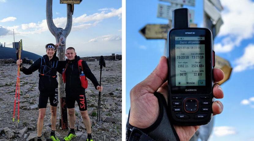 Nowy rekord czasowy Korony Gór Polski! 28 szczytów skompletowane w 73 godziny!
