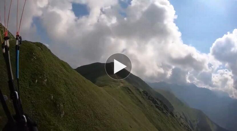 Paralotnią nad Czerwonymi Wierchami (FILM)