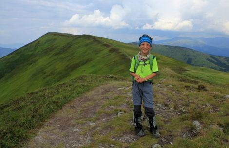 Miłosz pokazuje, że niemożliwe nie istnieje! Niepełnosprawny chłopiec przeszedł całą grań Tatr Niżnych