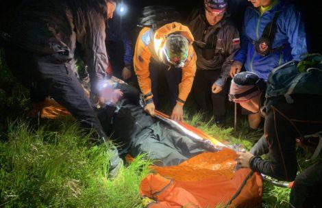 Nocna akcja ratunkowa w Tatrach Słowackich. Poszukiwano 72-letniego Polaka