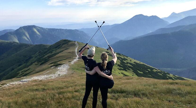 Do Góry Kulami! Ewa i Klaudia zdobywały dziś Tatry Zachodnie