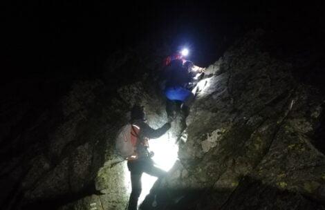 Polscy turyści utknęli nocą w Tatrach Słowackich. Bez światła, bez ciepłych ubrań…
