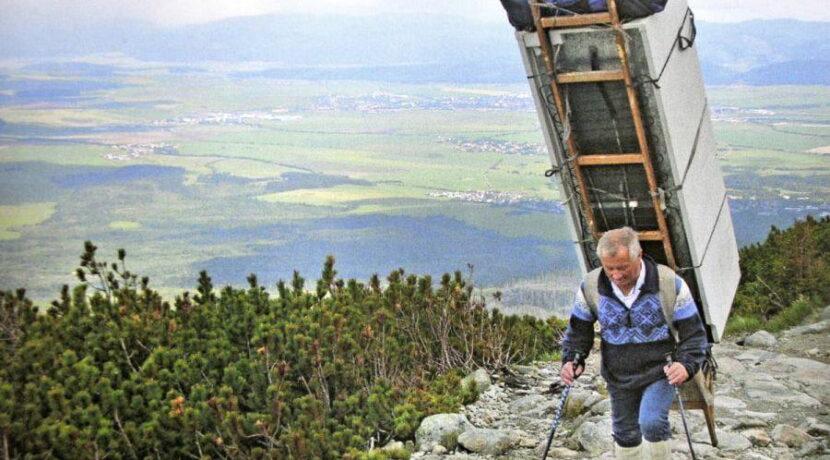 Nie żyje Laco Kulanga, król tatrzańskich nosiczy