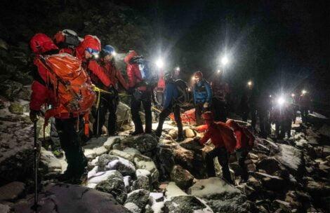 Szczegóły wypadku i trudnej akcji ratunkowej pod Rysami