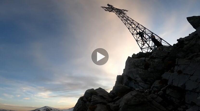 Zachód słońca na Giewoncie i…rosyjskie techno (FILM)