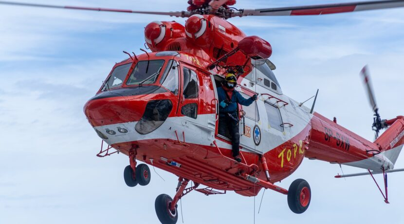 Wypadek na Rysach. Akcja ratunkowa TOPR