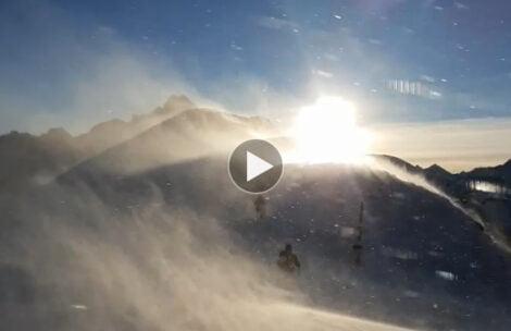 W Tatrach halny, może wiać nawet 150 km/h! Tak jest teraz na Kasprowym Wierchu (FILM)