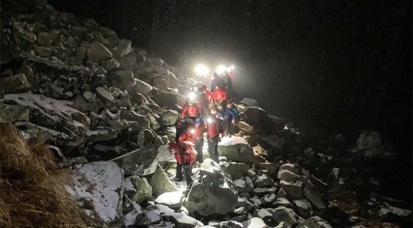 Kulisy nocnej akcji na Ornaku: halny wykończył turystów, planowali…biwakować w górach