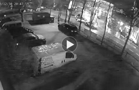 Zakopane: Uszkodził samochód i uciekł. Ratownik TOPR prosi o pomoc w namierzeniu sprawcy (FILM)