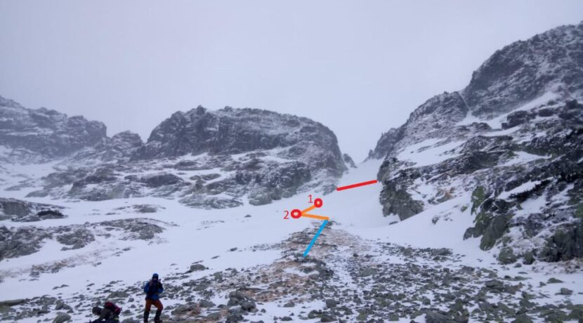 """""""Próbowałem utrzymać się na powierzchni, ale śnieg zaczął wciągać mi ręce"""" – relacja z wypadku lawinowego w Tatrach"""