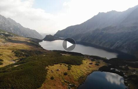 Dolina Pięciu Stawów Polskich z powietrza (FILM)