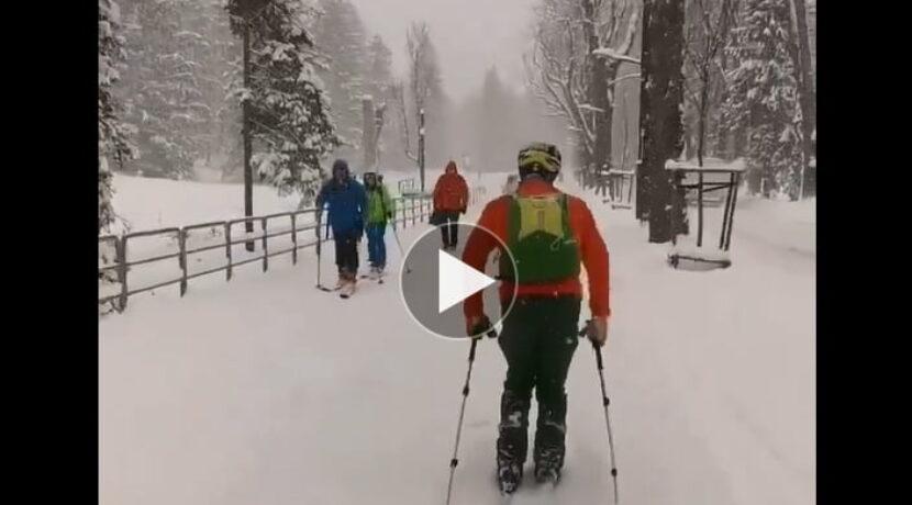 W Zakopanem bajkowa zima! Takie warunki panują obecnie (FILM)