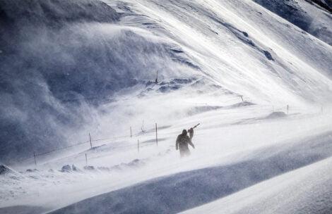Alert pogodowy! W Tatrach odczuwalne temperatury przekroczą -40°C!