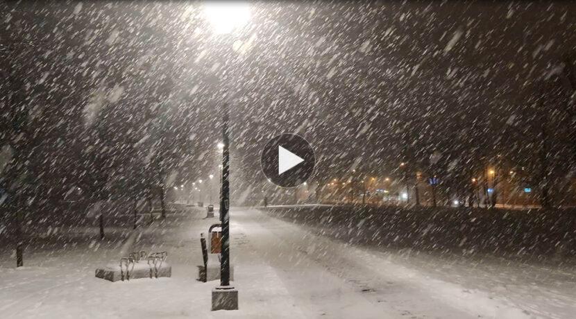 Wiosna na razie odwołana! Tak sypie aktualnie w Zakopanem (FILM)