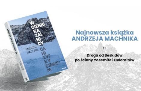"""""""W cieniu Kazalnicy"""" – nowa książka Andrzeja Machnika"""