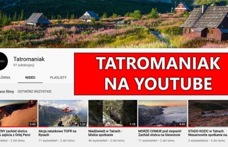 Tatromaniak na Youtube! Zachęcam do śledzenia