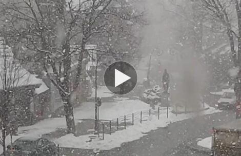 W Zakopanem zima na całego! Tak sytuacja wygląda obecnie (FILM)