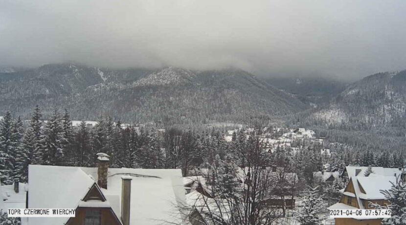 Na Podhalu zima w pełni! Tak wygląda dzisiejszy poranek (FILM)