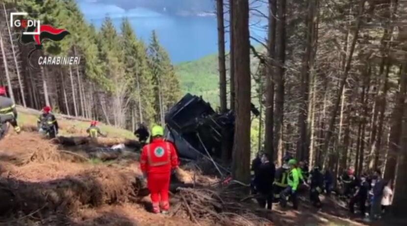 Tragedia we Włoszech. Kolejka górska runęła w dół, są ofiary śmiertelne