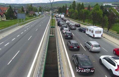 Armagedon na zakopiance. Przejazd do Krakowa zajmuje ponad 6 godzin