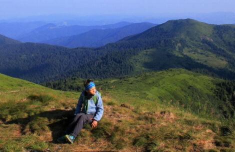 Miłosz znów zadziwia! Niepełnosprawny chłopiec przeszedł 100 km po górach Ukrainy