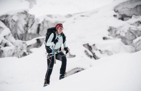 Anna Tybor zjechała z Manaslu na nartach i przeszła do historii!
