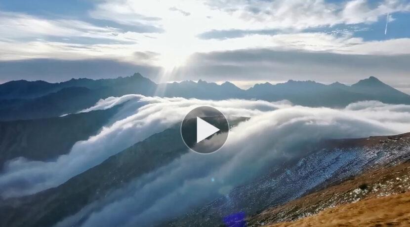 Niesamowity poranek w Tatrach! Musicie to zobaczyć (FILM)