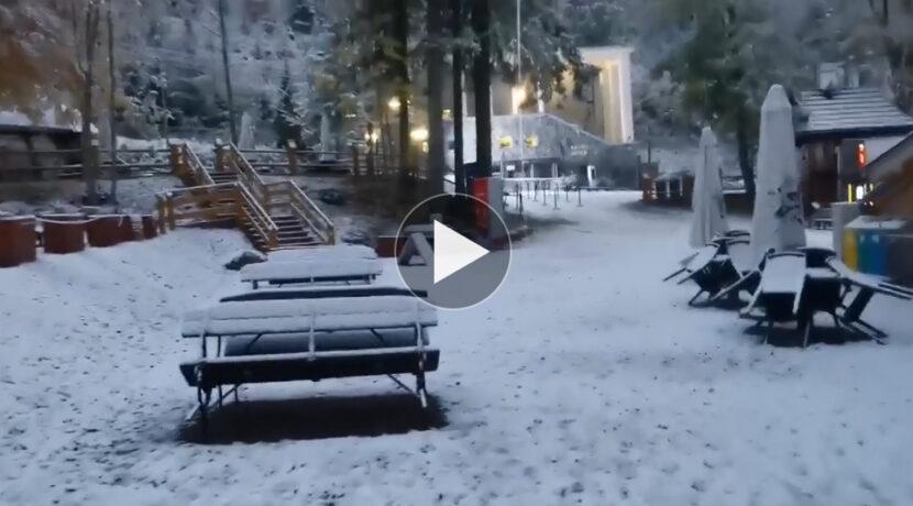 W Tatrach zima, śnieg spadł również w Zakopanem (FILM)